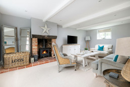 Holiday cottage with wood burner in Norfolk | Sextons Place